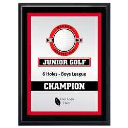 Bronco Golf Sport Plaque