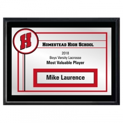MVP Border Plaque