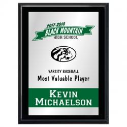 MVP Banner Plaque