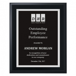 Premium Plaque - Black