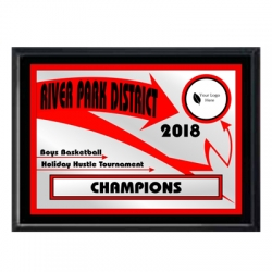 Red Arrow Sport Plaque
