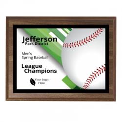 Strikers Baseball Sport Plaque