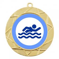 Color Sport Swim Medal