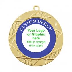Color Sport Custom Medal