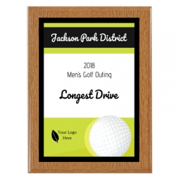 Islander Golf Sport Plaque